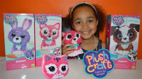 New Diy 3d Plushcraft  Kitty, Bunny,puppy  Kids Review