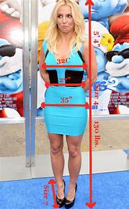 Are these Britney Spears' measurements? A body double ad ...