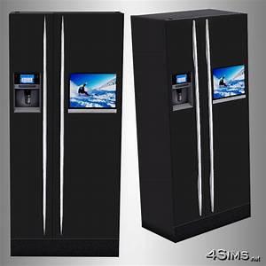 Ultra Modern Refrigerator for Sims 3