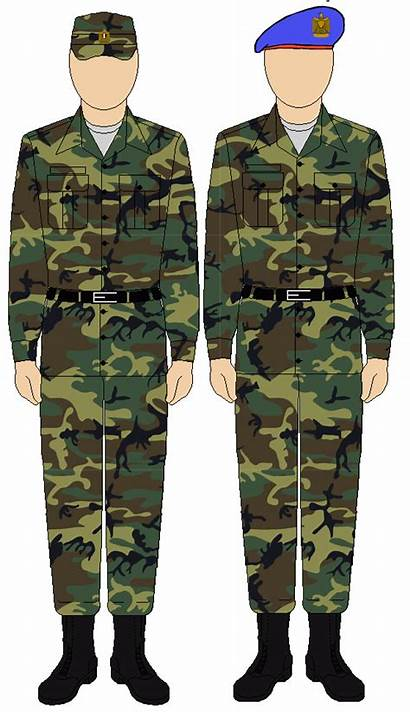 Uniform Egyptian Guard Republican Army Egypt Camouflage