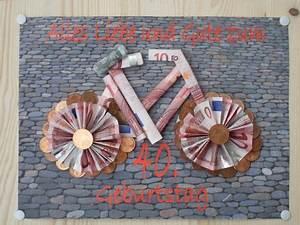 Fahrrad Aus Geldscheinen Falten : die besten 25 geldgeschenk fahrrad ideen auf pinterest ~ Lizthompson.info Haus und Dekorationen