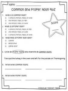 Common and Proper Noun Test