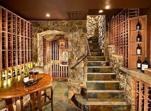 reussir l39amenagement de ma cave a vin cave amenagement With amenagement cave a vin maison