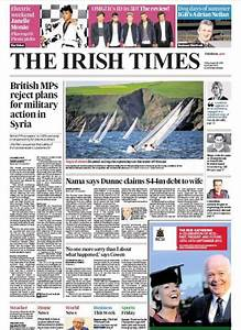 Friday Newspaper Review - - Irish Business and ...