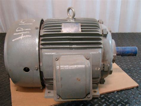 Westinghouse Electric Motor by Teco Westinghouse 15hp Electric Motor 3525rpm 230 460v 3 216