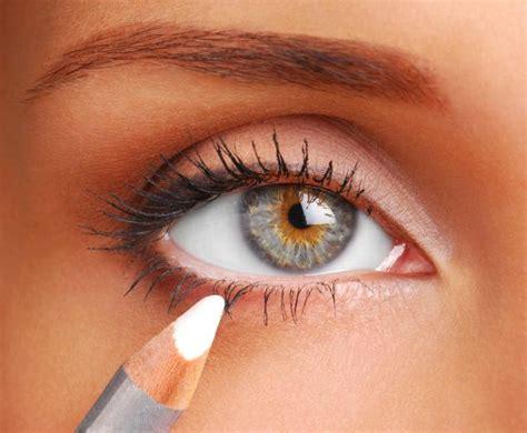 tips   white eyeliner beauty tips tricks