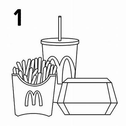 Mcdonalds Mcdonald Cara Burger Yang Eating Makanan
