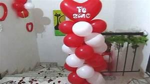 decoracion con globos decoracion y amistad
