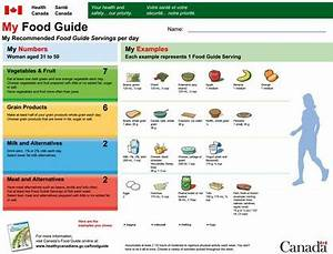 Nutrition Chart For Adults Does The Canada Food Guide Need A Healthy Dose Of Reality