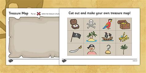 treasure map design activity worksheets pirate pirates