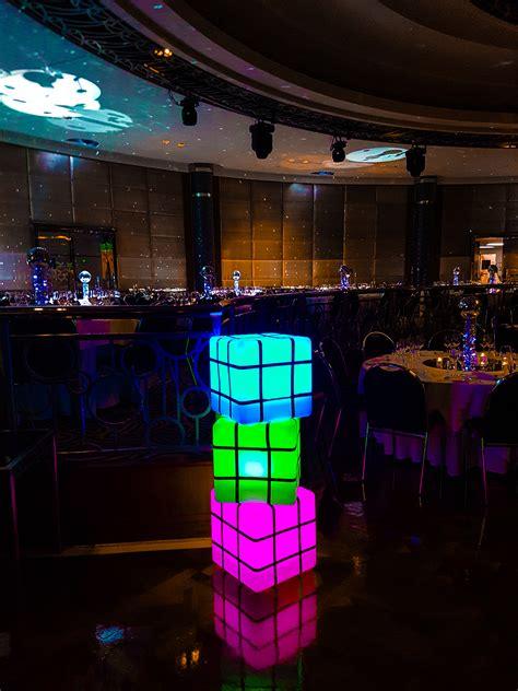 led rubix cube hire feel good  melbourne