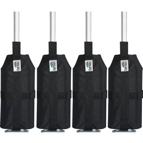 eurmax pcs sand bags leg weights  ez pop  canopy patio gazebo outdoor tent ebay