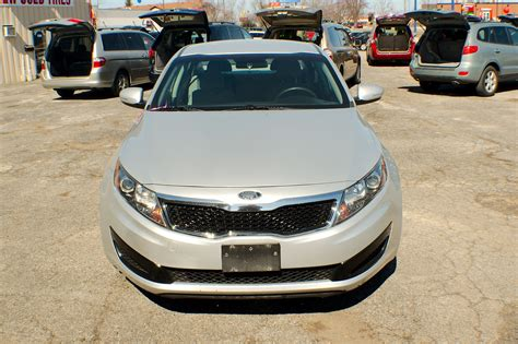 Gurnee Kia by 2011 Kia Optima Gdi Silver Sedan Used Car Sale