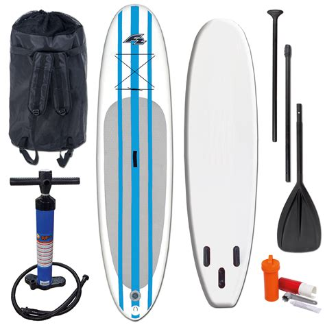 f2 sup test f2 basic blue stand up paddle board sup set 10 5