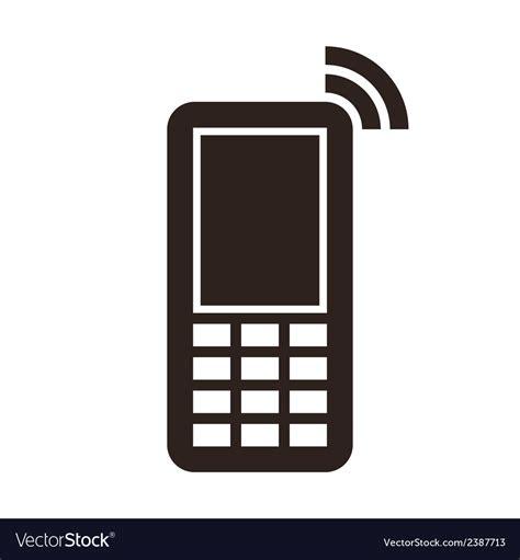Mobile Phone Icon Royalty Free Vector Image Vectorstock