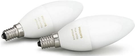 philips hue leuchtmittel philips hue led leuchtmittel e14 2 st 252 ck neutralwei 223 tageslichtwei 223 warmwei 223
