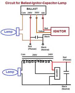 Sodium Vapor L Diagram by Sodium Vapor Light Wiring Diagram Get Free Image About