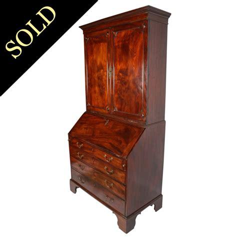 bureau bookcase antique bureau bookcase georgian mahogany bureau bookcase