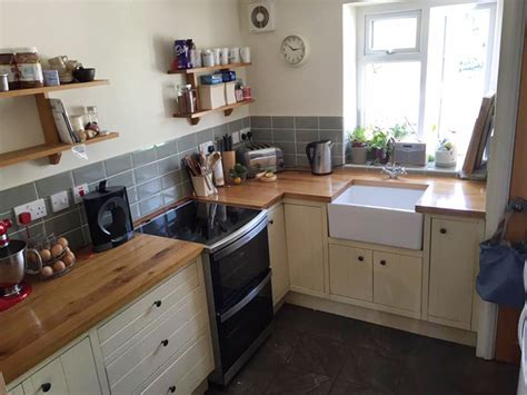 customer kitchen wooden worktop gallery page  worktop