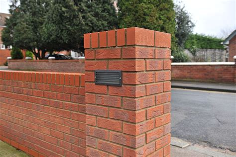 installing external l on brick wall s car keeps hitting it screwfix community