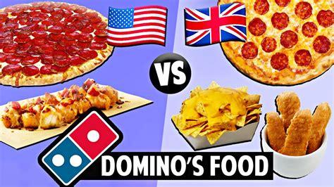 domino cuisine vs domino 39 s food