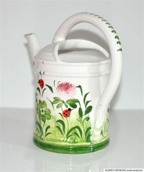 Gießkanne Für Zimmerpflanzen by Bassano Keramik Gie 223 Kanne F Zimmerpflanzen Kleebl 252 Ten
