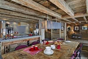 chalet les plus belles idees deco a s39approprier With meubles de montagne en bois 7 un chalet de montagne 224 lesprit recup et nomade maison