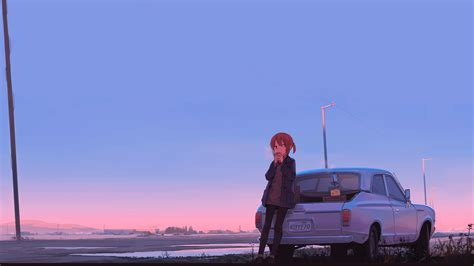 Anime Car Wallpaper - anime car coffee hd anime 4k wallpapers