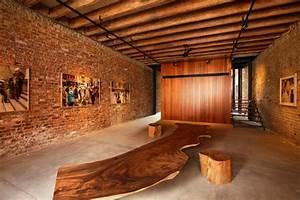 Le mur en brique decors spectaculaires archzinefr for Superior maison brique et bois 11 le mur en brique decors spectaculaires archzine fr