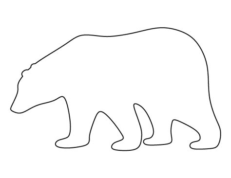 polar template polar pattern use the printable pattern for crafts creating stencils scrapbooking and