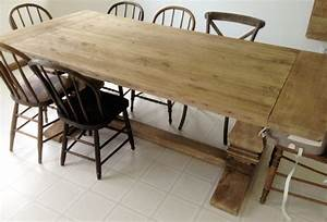 Restoration Hardware Table with Natural Finish and Ways to