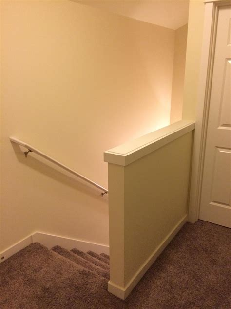 Wall Banister by Drywall Is There An Easy Way To Convert A Regular