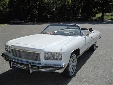2 door caprice for purchase used 1975 chevrolet caprice classic convertible 2