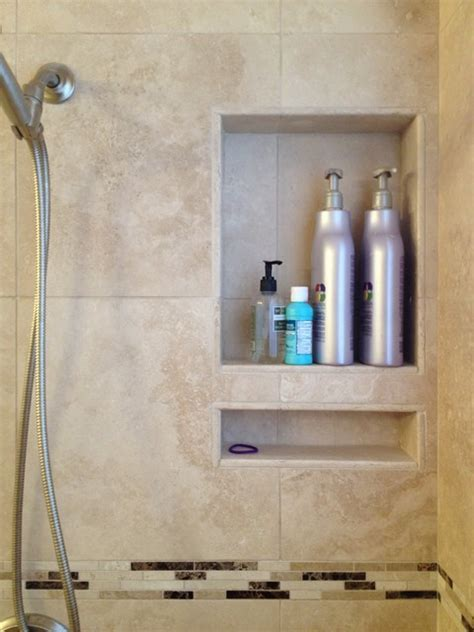 Travertine Tub / Shower Conversion in The Woodlands Tx