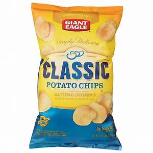 Giant Eagle Classic Potato Chips - Grocery Aisles - Giant ...