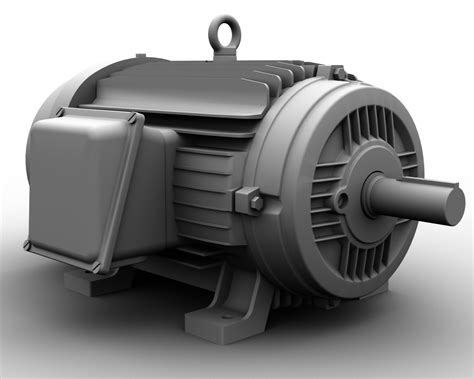 Industrial Electric Motor   Ethereal 3D - Online Store