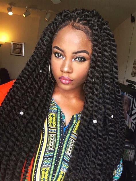 chunky twists hair pinterest protective styles box