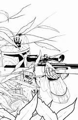 Mandalorian Ram Coloring Draw Zerimar Sketch Deviantart Deviant sketch template