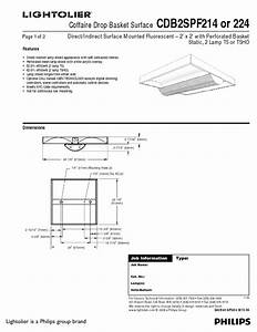 Cdb2gpf224 Manuals