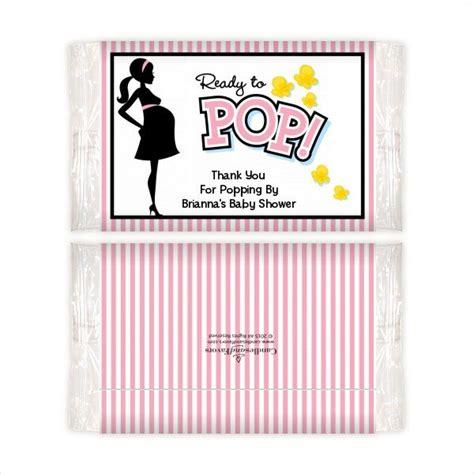 popcorn wrapper templates  psd jpg png format