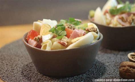 salade de p 226 tes aux noix et jambon