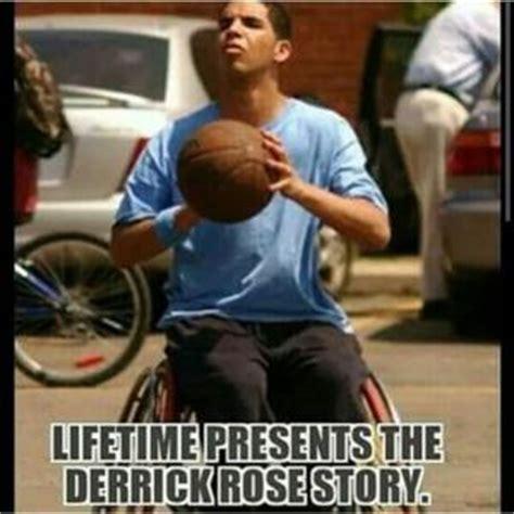 Derrick Rose Injury Meme - drake wheelchair jokes kappit
