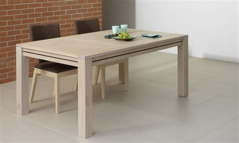 table de cuisine escamotable table avec rallonge integree