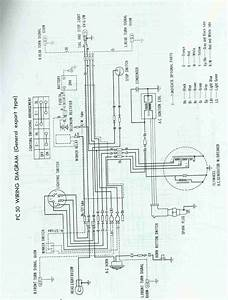 Re  Wiring Diagram Pc50 Honda  U2014 Moped Army