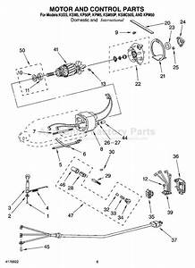 Kitchenaid K5ss Parts