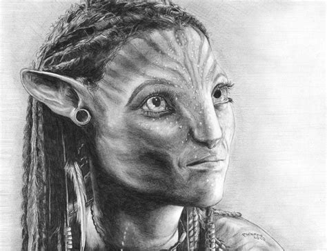 Neytiri By Fallingdark On Deviantart
