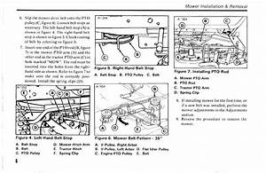 Solved  How Do Replace A Belt On A Simplicity Lawn Tractor