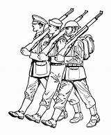 Coloring Soldier Pages Armed Parade Forces British Army Drawing Easy Spitfire Confederate Draw Saluting Soldiers Alone Cute War Military Getdrawings sketch template