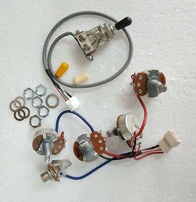 real epiphone pro wiring harness push pull alpha pots switch fit gibson les paul cad 45 98
