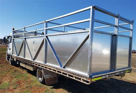 Galvanised Stock Float Crates